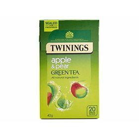 Twinings Apple & Pear Green Tea 20 Tea Bags, 40g