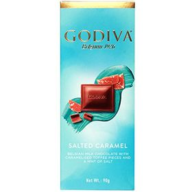 Godiva Salted Caramel Belgian Milk Chocolate, 90g