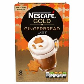Nescafe Gold Gingerbread Latte 8 Mug Box (8 X 21g) - 168g