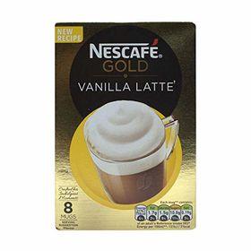 Nescafe Gold Vanilla Latte - 8 Sachets