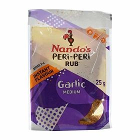 Nando's Garlic Peri Peri Seasoning Rub 25G