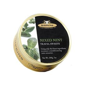 Simpkins Mixed Mint Drops, 200g