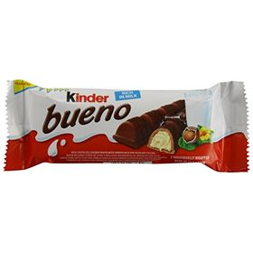 Kinder Bueno 2 Individually Wrapped Bars, 43g [Pack Of 3]