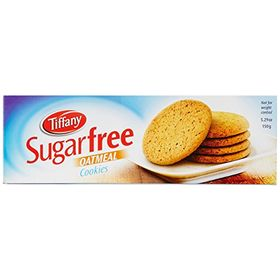 Tiffany Biscuit Sugar Free Oat Meal, 150g