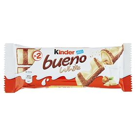 Kinder Bueno White Chocolate Bar (Pack of 3) 39g