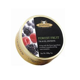 Simpkins Forest Fruit Travel Sweets, 200g