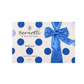 Bernotti Dark Coffee and Orange Cream Filled Chocolates Love Gift Box 363g (MX55)