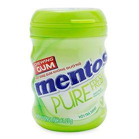 Mentos Pure Fresh Lime Mint Sugar Free Gum, 61.25g