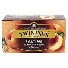 Twinings Peach Tea 25 Tea bags, 50g
