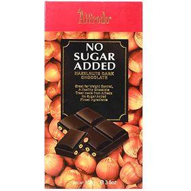 Alfredo No Added Sugar Hazelnut Dark Chocolate, 100g