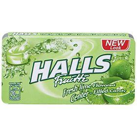Halls Fruitti Fruit Spark Fresh Lime, 22.4g
