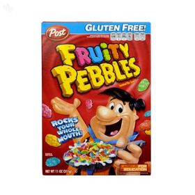 Post Cereal Fruity Pebbles, 311g