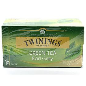 Twinings Green Tea Earl Grey 25 Tea Bags, 40g