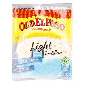 Old el Paso Tortilla light (6's), 240g