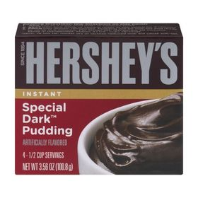 Hershey's Instant Special Dark Chocolate Pudding, 100.8g