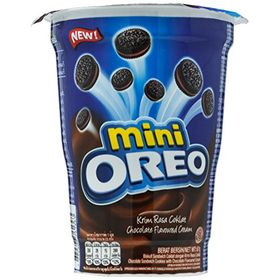 Oreo Mini Chocolate Flavoured Cream Biscuit Cup (Pack of 2), 67g