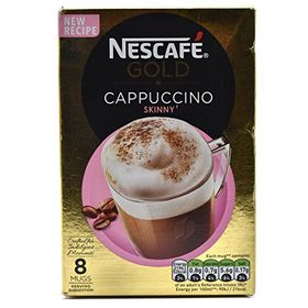 Nescafe Gold Cappuccino Skinny 8 Mugs - 116g