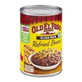 Old El Paso Refried Black Beans 453g