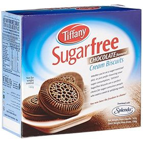 Tiffany Biscuit Sugar Free Chocolate, 162g