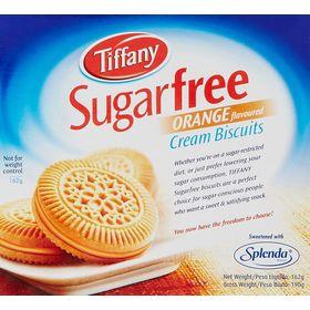 Tiffany Biscuit Sugar Free Orange, 162g