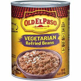 Old El Paso Refired Beans Vegetarian 453g