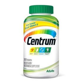 Centrum Adults Under 50 Multivitamins - 365 Tablets