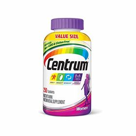 Centrum Women Multivitamin / Multimineral Supplement Tablet, Vitamin D3 (250 Count)