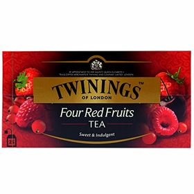 Twinings Four Red Fruits Tea (International Blend) - 25 Envelopes