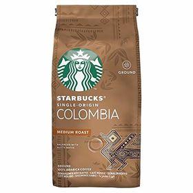 Starbucks Colombia Medium Roast Ground Coffee Packet, 200g