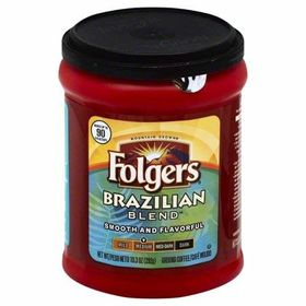 Folgers Brazilian Blend Medium Ground Coffee, 292g
