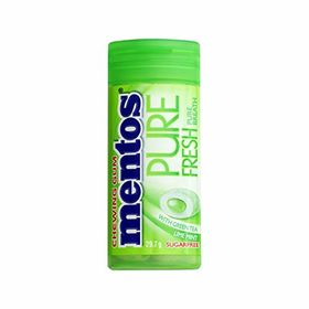 Mentos Pure Fresh Chewing Gum Sugar Free 29.7gm,with(Greentea & Lime Mint)