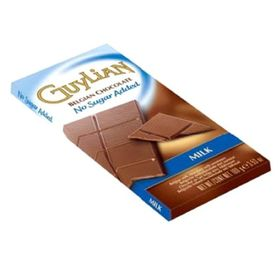 Guylian No Sugar Bar Milk, 100g