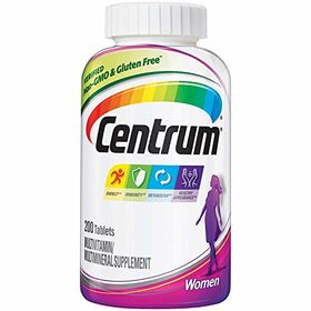 Centrum Multivitamin/Multimineral Supplement, Women, Tablets, 200 tablets