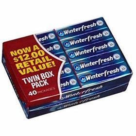 Wrigley - Winterfresh, Small, 40 count