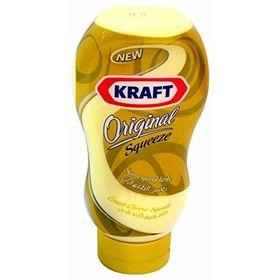 Kraft Original Squeeze Cheddar Cheese Spread 440g