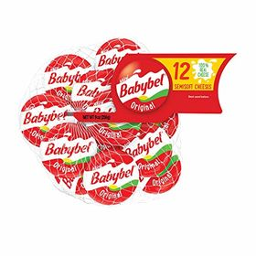Babybel Original 100% Real Cheese - 120g (6x20g)