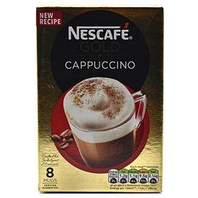 Nescaf Cappuccino for 8 Mugs, 136g (Gold)
