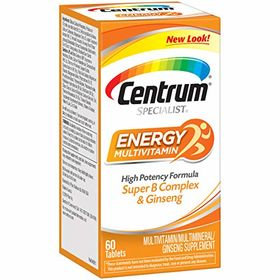 Centrum Centrum Specialist Energy Multivitamin Tablets