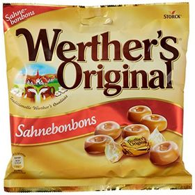 Werther's Original Sahnebonbons Candies, 245g