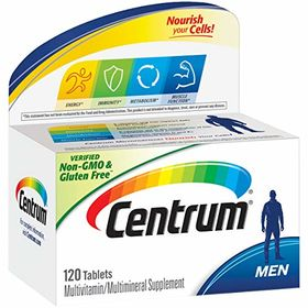 Centrum Men Under 50 Multivitamin Tablets - 120 Ea