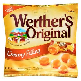 Storck Werthers Original Creamy Filling, 125g