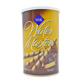 Cizmeci Time Wafer Master Cubes, Chocolate Cream - 250g