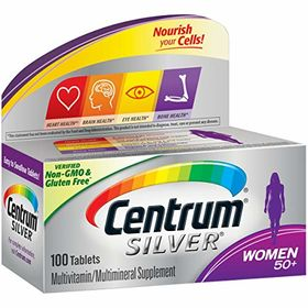 Centrum Silver Women 50+ Multivitamin & Multimineral Supplement Tablets - 100 tablets