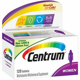 Centrum Women's Multivitamin Supplement - 120 Count