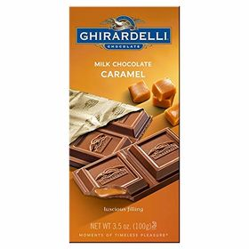 Ghirardelli Milk Chocolate Caramel Bar, 100g