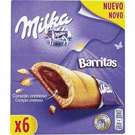 Milka Creamy Heart 6 Bars, 156g