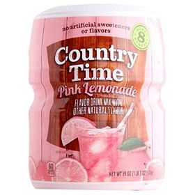 Kraft Country Time Pink Lemonade Drink Mix, 538 g