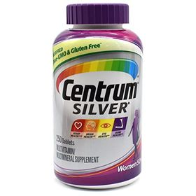 Centrum Silver Multivitamin, Multimineral Tablets for Women 50+ - 250 each