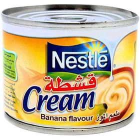 Nestle Cream Banana Flavour, 160 grams (Pack Of 4)