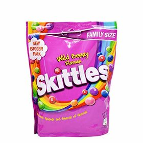 Skittles Wild Berry Flavour Candy Packet, 196g